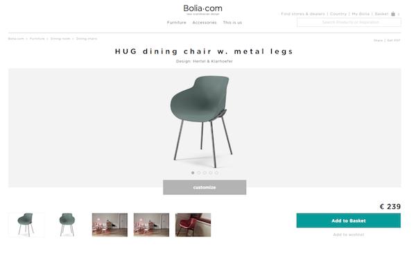 Bolia.com, Danimarca 2