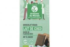 Cioccolato al cocco vegano
