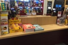 Accessori e cataloghi alla cassa