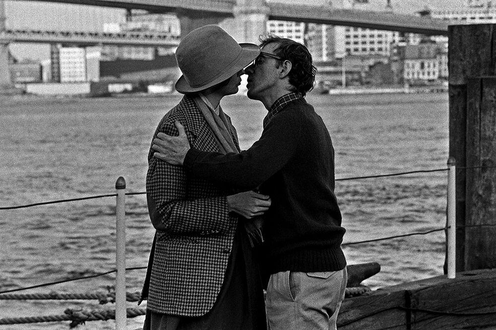 Diane Keaton and Woody Allen, Pier 17, Annie Hall